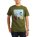 Dehydrated Food Organic Men's T-Shirt (dark)