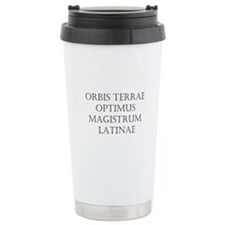 Latin Teacher Travel Mug