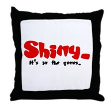 Shiny Genes Throw Pillow