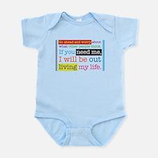 Live My Life Infant Bodysuit