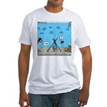Jellyfish SCUBA Fitted T-Shirt