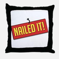 Nailed It! Throw Pillow