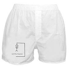 Let's Play Hangman Boxer Shorts
