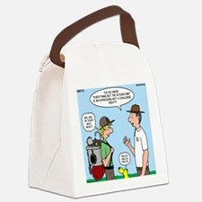 Backpack Overpack Canvas Lunch Bag
