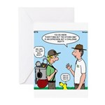 Backpack Overpack Greeting Cards (Pk of 10)