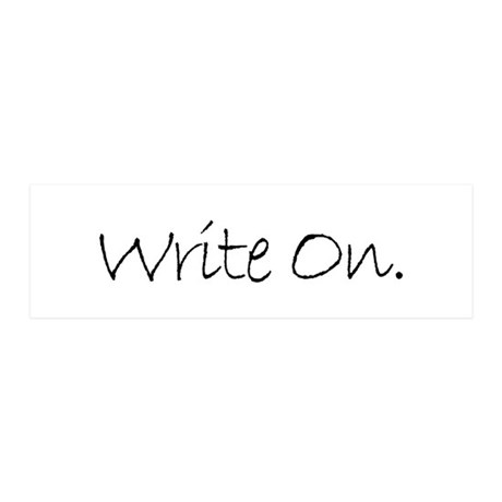Write On (Ver 4) 36x11 Wall Decal