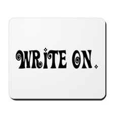 Write On (Ver3) Mousepad