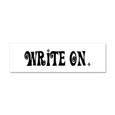 Write On (Ver3) Car Magnet 10 x 3