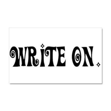 Write On (Ver3) Car Magnet 20 x 12