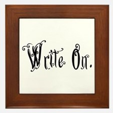 Write On (Ver 2) Framed Tile