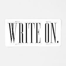 Write On (Ver 1) Aluminum License Plate
