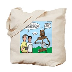 Scout Robot Tote Bag