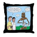Scout Robot Throw Pillow