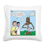 Scout Robot Square Canvas Pillow