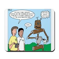 Scout Robot Mousepad