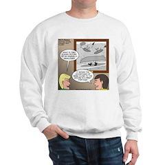 Canoe Portage in the Wind Sweatshirt