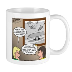 Canoe Portage in the Wind Mug