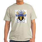 Normand Coat of Arms Ash Grey T-Shirt