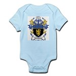Normand Coat of Arms Infant Creeper