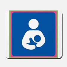 Brestfeeding Icon Mousepad