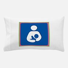 Brestfeeding Icon Pillow Case