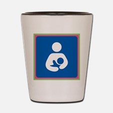 Brestfeeding Icon Shot Glass