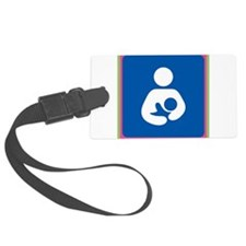 Brestfeeding Icon Luggage Tag