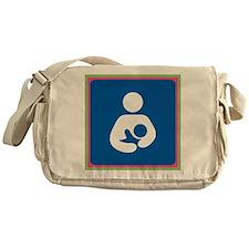 Brestfeeding Icon Messenger Bag