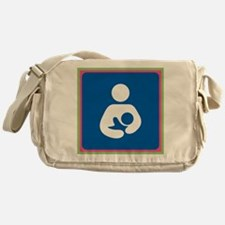 Brestfeeding Icon Messenger Bag
