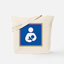 Brestfeeding Icon Tote Bag