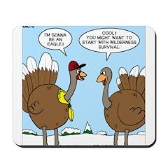 Talking Turkey Mousepad