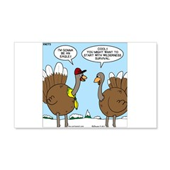 Talking Turkey Wall Decal