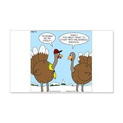 Talking Turkey Wall Decal