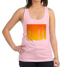 Power lines Racerback Tank Top