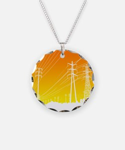 Power lines Necklace
