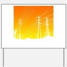 Power lines Yard Sign