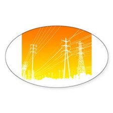 Power lines Decal
