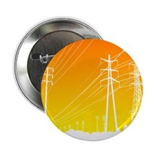 """Power lines 2.25"""" Button (10 pack)"""