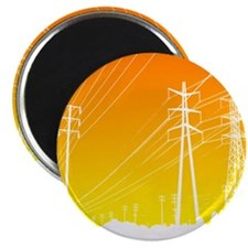 Power lines Magnet