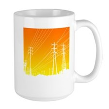 Power lines Mug