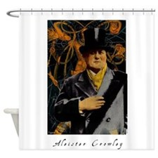 Aleister Crowley Shower Curtain