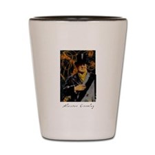 Aleister Crowley Shot Glass