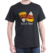 Trick or Treat Halloween Candy Corn T-Shirt
