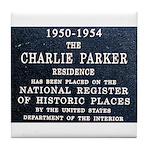 Charlie Parker Residence Tile Coaster