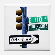 Tito Puente Tile Coaster