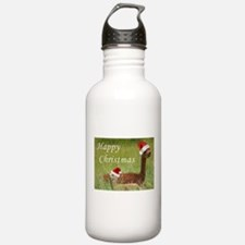 Mother and Baby Christmas Water Bottle