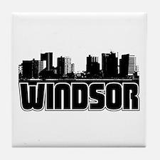 Windsor Skyline Tile Coaster