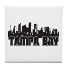 Tampa Bay Skyline Tile Coaster