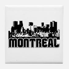 Montreal Skyline Tile Coaster