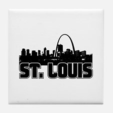St. Louis Skyline Tile Coaster